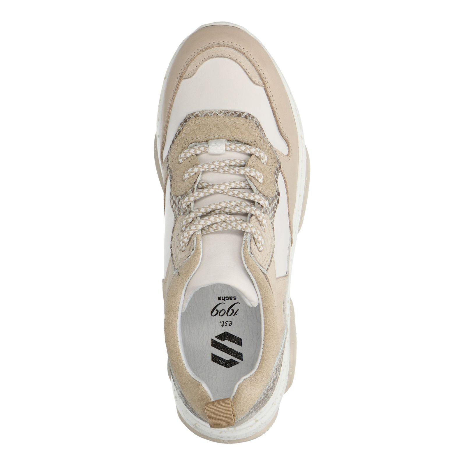 Beige dad sneakers - Damesschoenen - SACHA