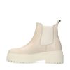 Latte chunky chelsea boots
