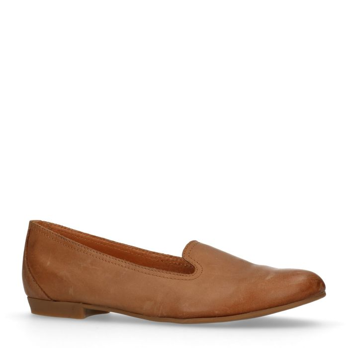 Loafers cognac