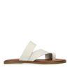 Off white leren slippers