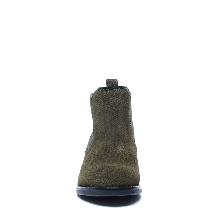 Army kleurige chelsea boots