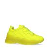 Neon gele dad sneakers