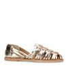 Metallic gouden sandalen