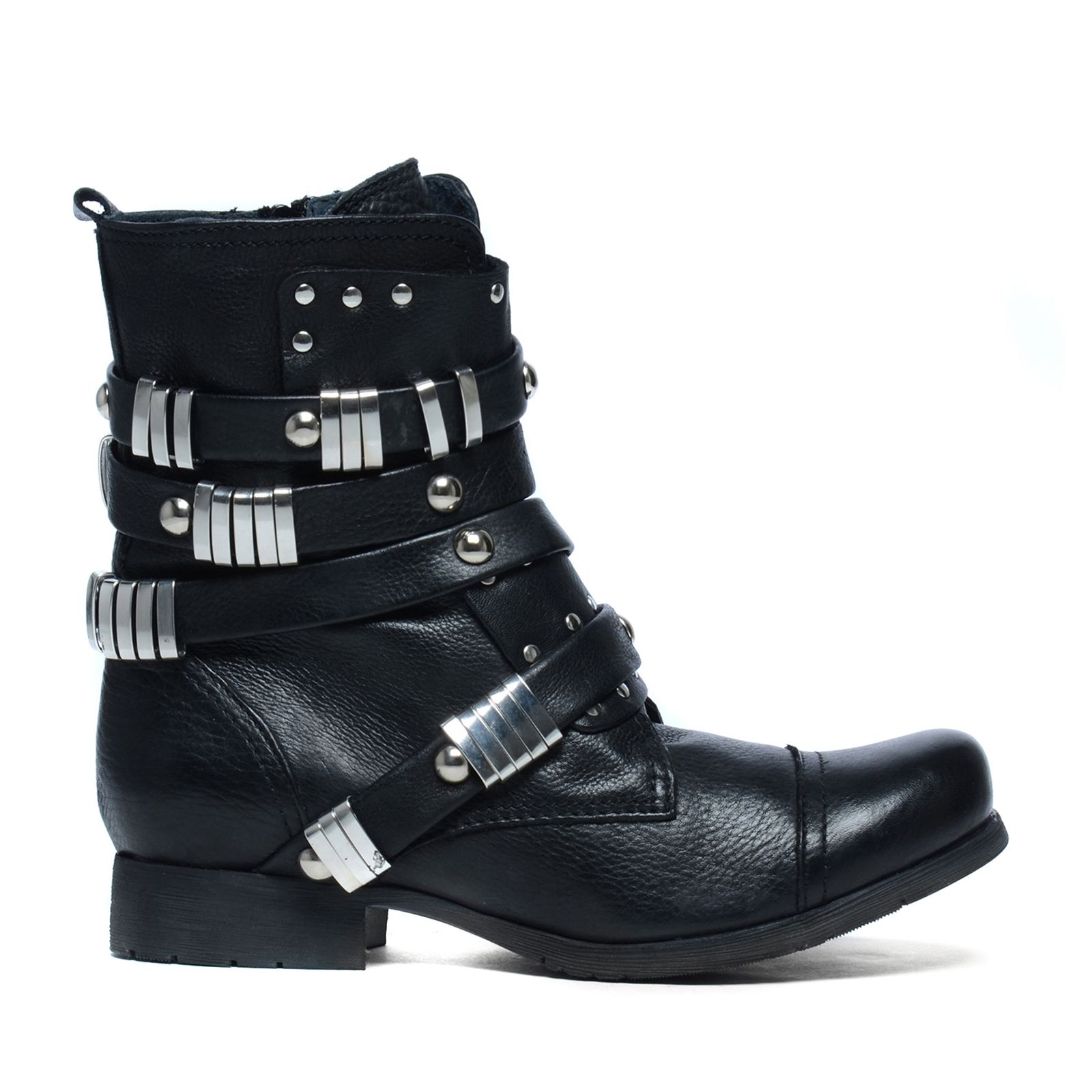 Sacha x Fashionchick bottines avec clous - noir (36,37,38,39,40,41,42)