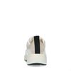 Off white leren sneakers met details