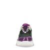 Dad sneakers paars/groen