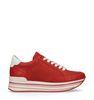 Rode platform sneakers