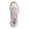 Groen/roze dad sneakers