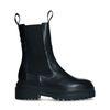 Vivian Hoorn x Sacha zwarte leren chelsea boots