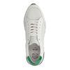 Witte platform sneakers