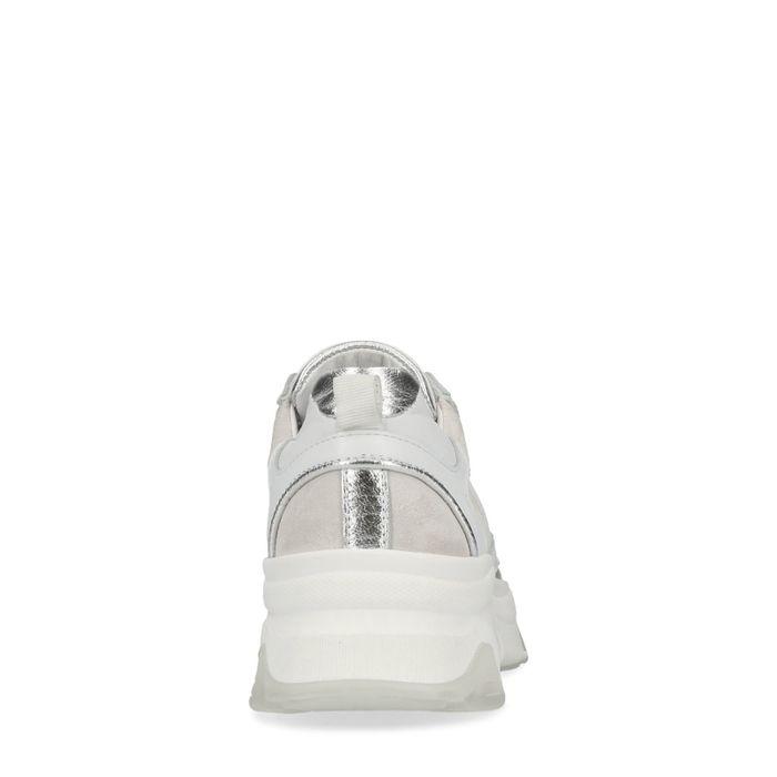Witte dad sneakers