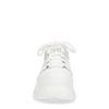 Witte chunky sneakers met plateau zool