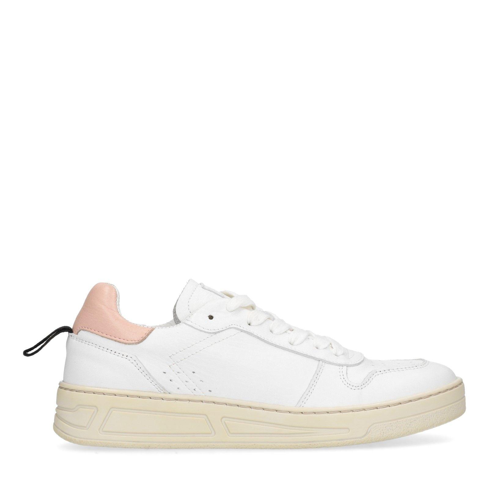 Witte Met Roze Sacha Sneakers Detail y80wNnmvO
