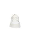 Witte sneakers met cheetahprint