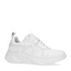 Witte leren dad sneakers