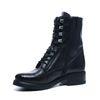 Zwarte boots met veters