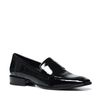 Zwarte lakleren loafers