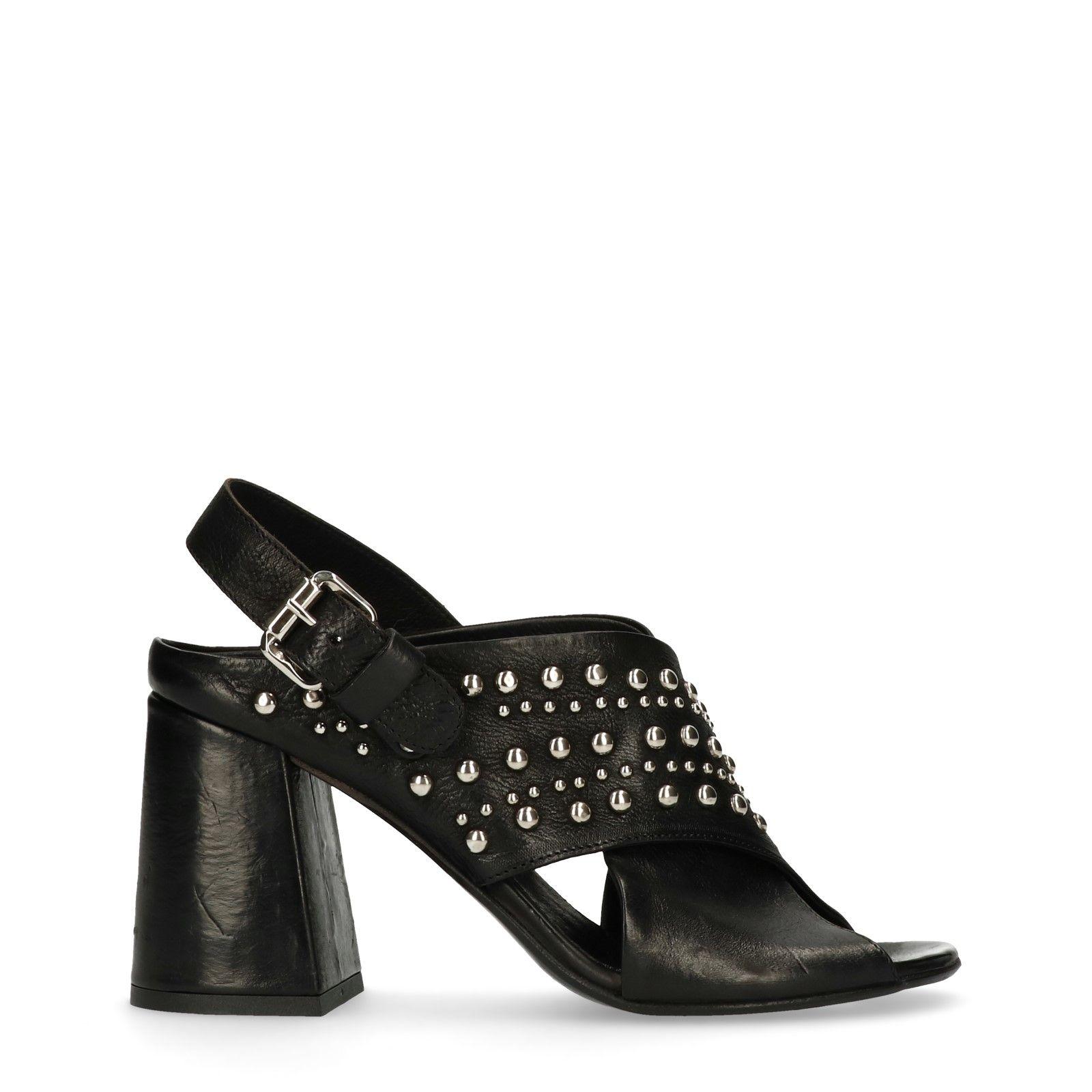 Sandalen Zwarte Studs – Met Damesschoenen Sacha Hak l1JKcFT