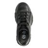 Zwarte chunky sneakers met plateau zool