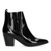 Lak zwarte chelsea boots