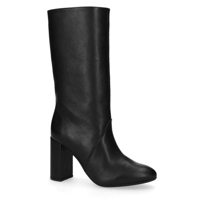 Sacha x Goldiloks zwarte hoge laarzen met hak