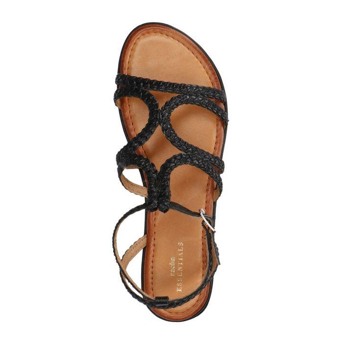 Zwarte sandalen