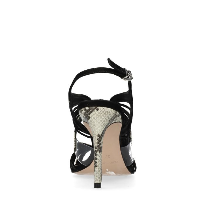 Open pumps met peeptoe