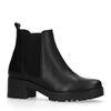 Chelsea boots met blokhak
