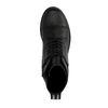 Zwarte biker boots met sportstrap