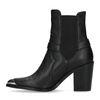 Zwarte chelsea boots met hak