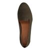 Donkergroene loafers