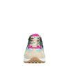 Multicolor suède sneakers