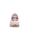 Beige multicolor suède sneakers