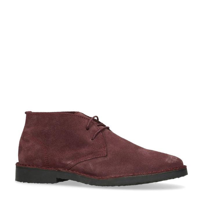 Suède desert boots