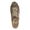 Lage panterprint sneakers met ster