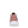 Multicolored suède sneakers met metallic details