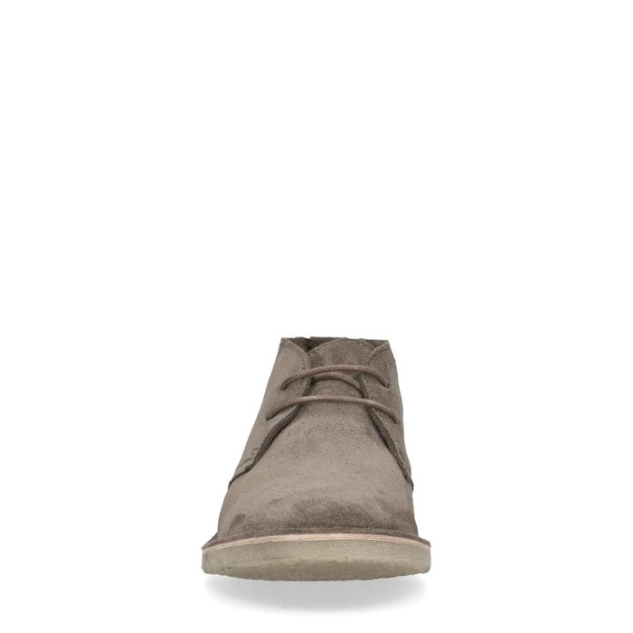 Taupe suède desert boots