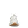 Witte dad sneakers met details