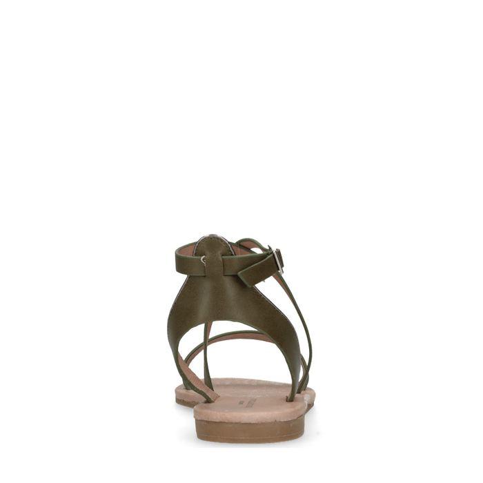 Groene sandalen