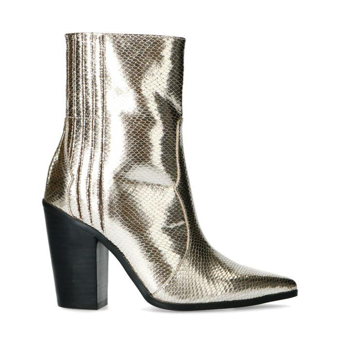 Goudkleurige western boots