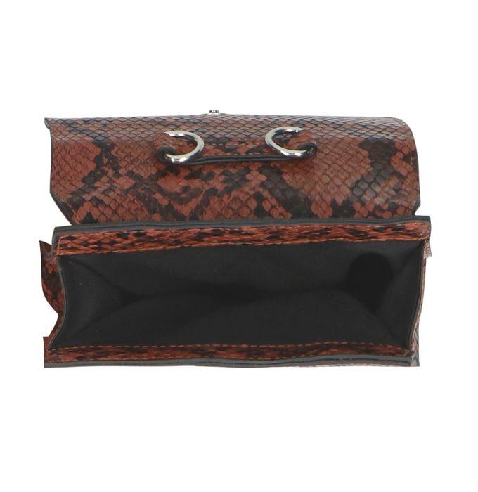 Slangenprint mini bag