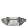 Zilveren beltbag met crocodetail