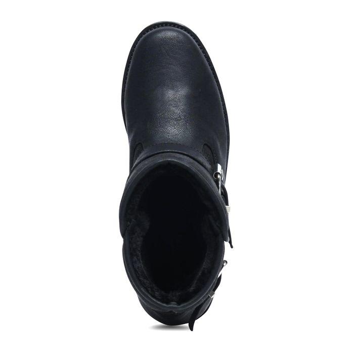 Zwarte boots met gespen