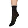 Zwarte sokjes met print