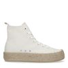 Half hoge off white sneakers