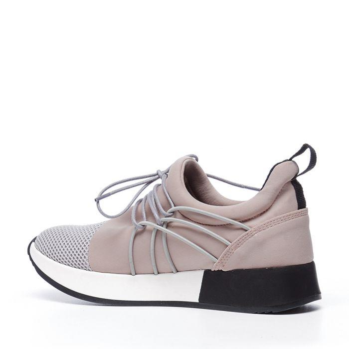 Lage sneakers roze