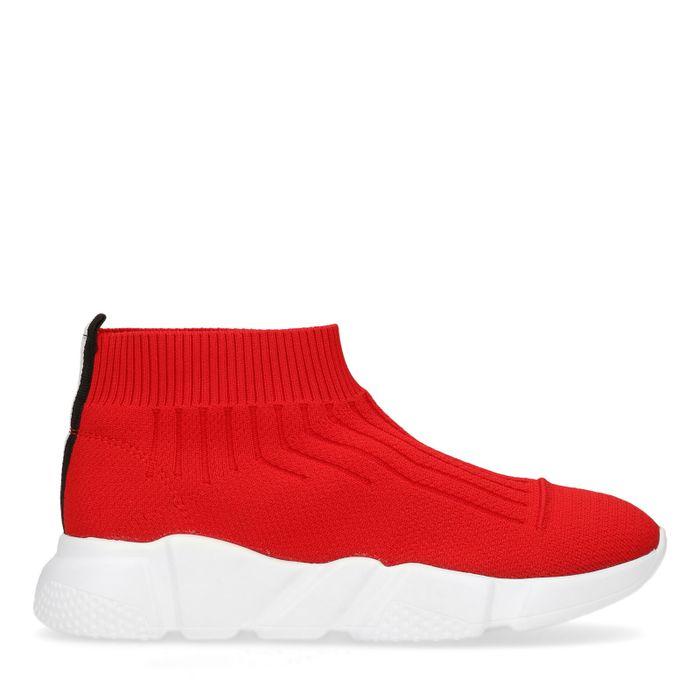 Rode sok sneakers