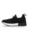 Zwarte lage sneakers
