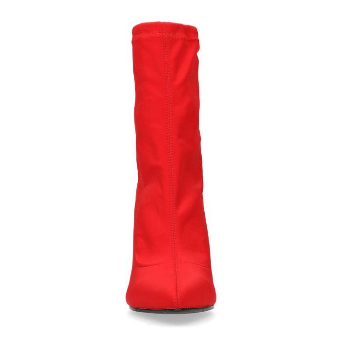833f13f8c280 Bottines-chaussettes textile - rouge - femmes – SACHA