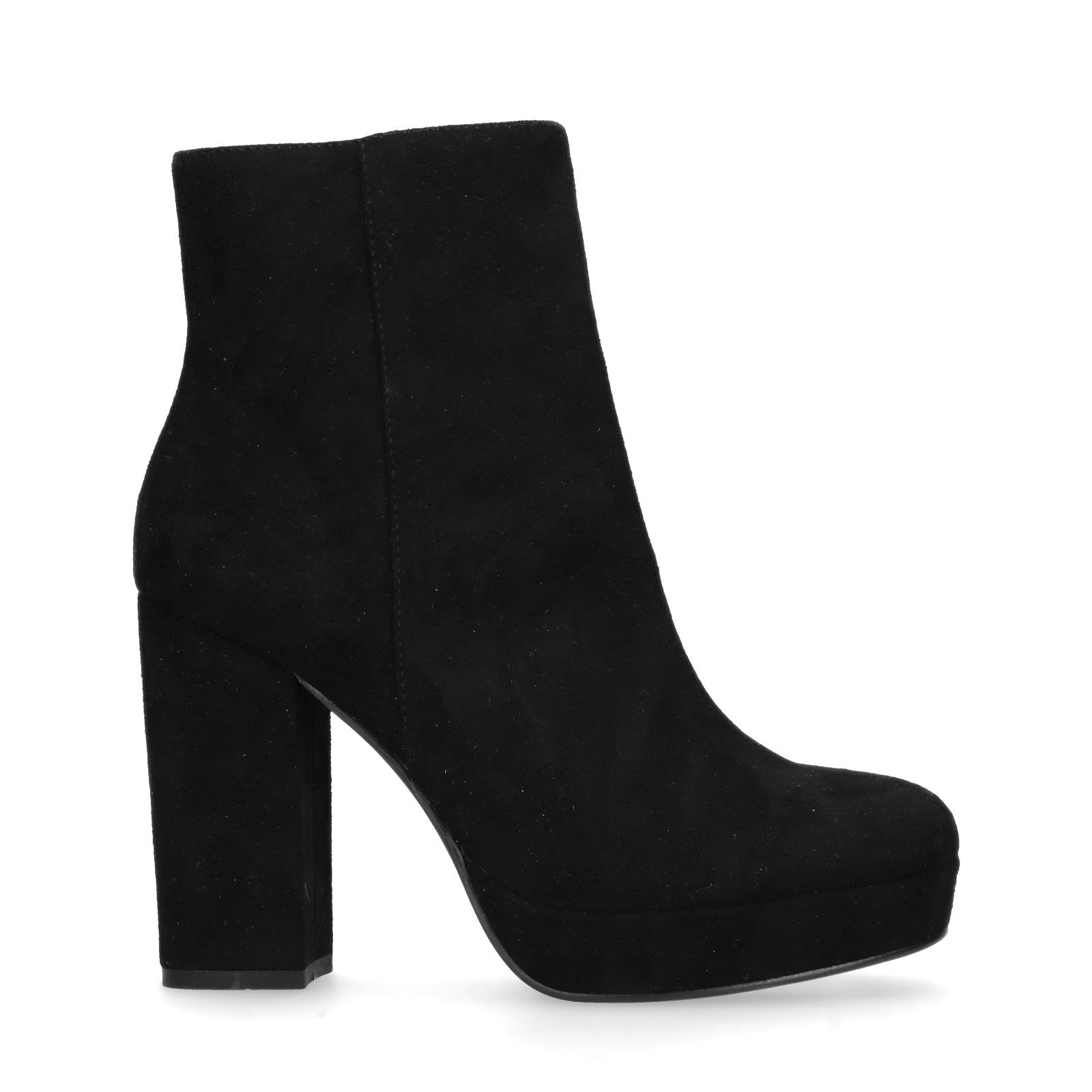 zwarte laarzen met hakje